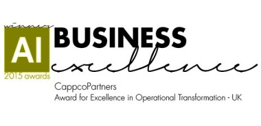 Award for Excellence in Operational Transformation - UK